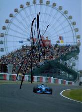 Alexander Wurz Hand Signed Mild Seven Benetton F1 Photo 7x5 6.