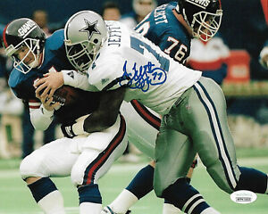 Jim-Jeffcoat-Signed-8x10-Photo-NFL-Autographed-Dallas-Cowboys-JSA