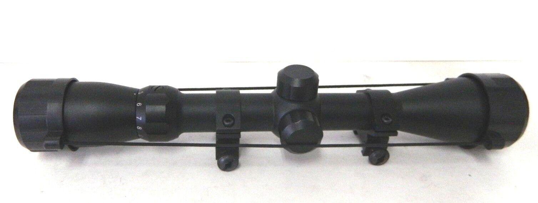 Mira Para Rifle 3-9X40 Mil Dot Retícula dúplex Negro Mate