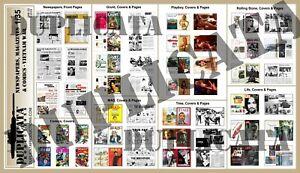 Diorama-Model-Accessory-1-35-Newspapers-Magazines-amp-Comics-Vietnam-War