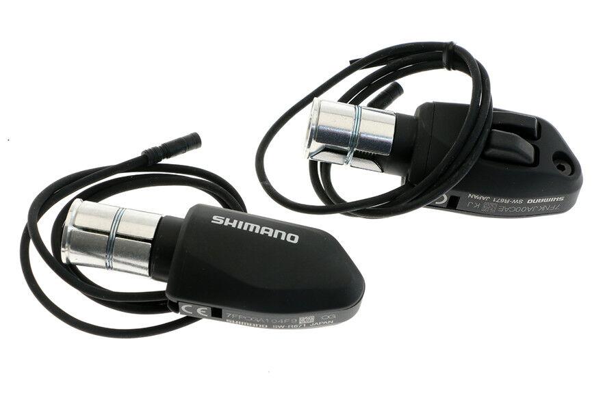 Shimano Di2 SW-R671 2x11 SP TT Conjunto de Palanca de cambios finales Bar-Barra Izquierda & Derecho Nuevo Aero