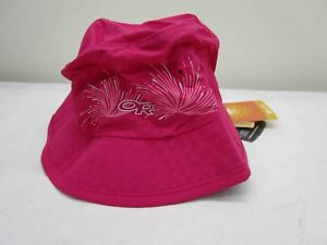 Outdoor-Research-Small-Kids-039-Solstice-Sun-Bucket-Hat-Desert-Sunrise-Pink-NEW