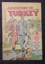 1953 ADVENTURE IN TURKEY #nn One-Shot Travel PROMO Comic FVF