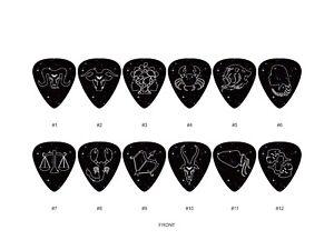 Zodiac-Guitar-Pick-Set-12pcs-BUY-2-SAME-GET-THE-3RD-FREE