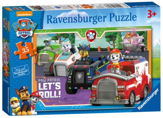 08617 Ravensburger Paw Patrol 35pc Childrens Jigsaw Puzzle Kids Toy Games Age 3+