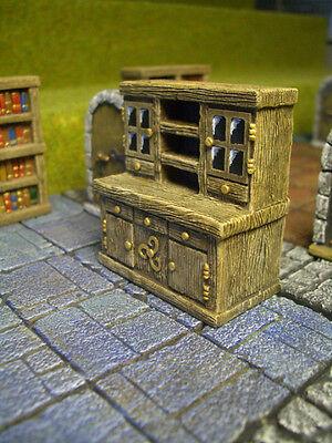 Pantry Shelf Thomarillion Unpainted Terrain D/&D Dwarven Forge