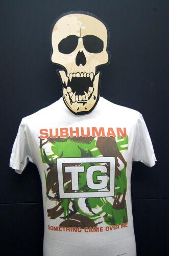 T-Shirt Subhuman Something Came Over Me Throbbing Gristle
