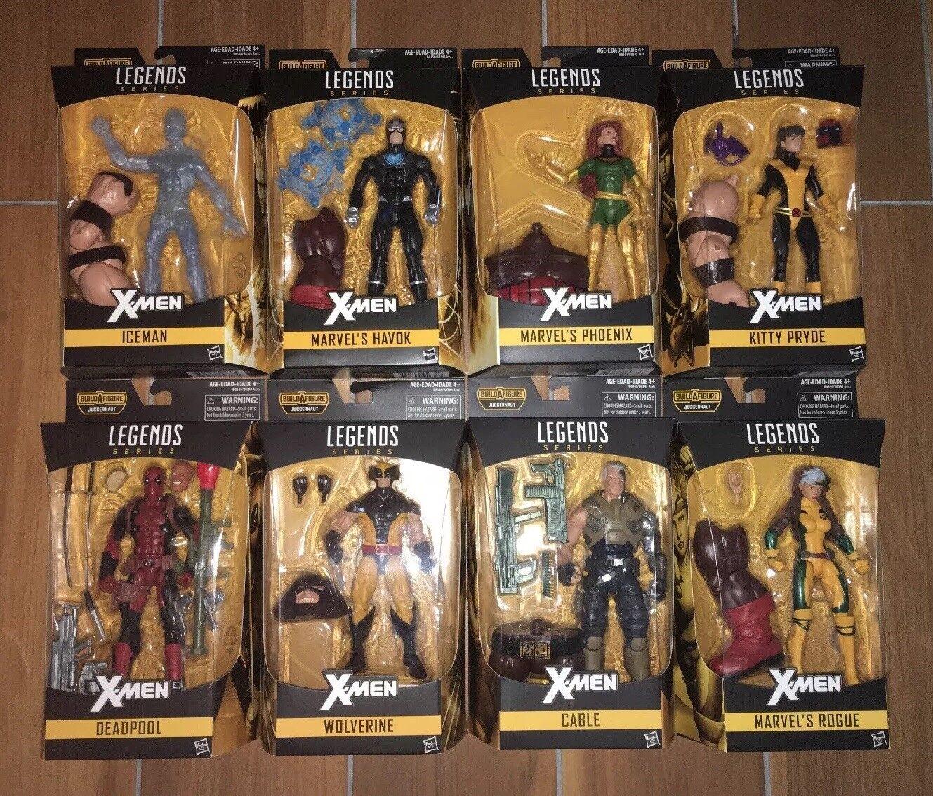 Marvel Legends X Hommes  Series Lot Complete  obtenir la dernière