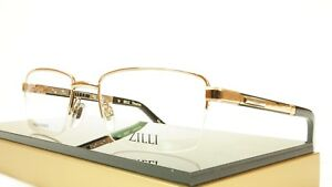 3d810aff4de Image is loading ZILLI-Eyeglasses-Frame-Acetate-Leather-Titanium-France -Hand-