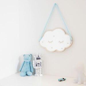 Details about Kids Mirror Cloud Acrylic Bedroom Living Room Cartoon Shape  Nursery Childrens
