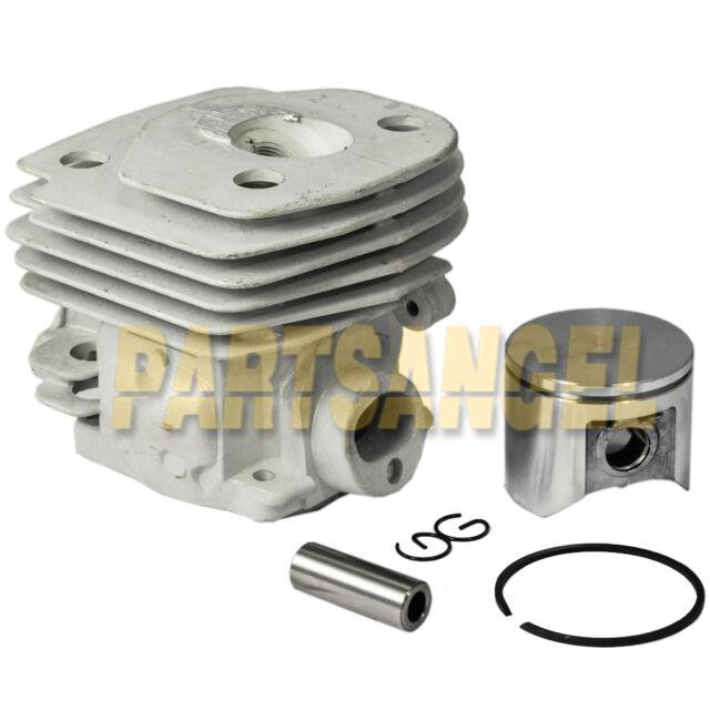 Cylinder /& Piston Ring Assembly 47mm For Husqvarna Rancher 455 455E 460