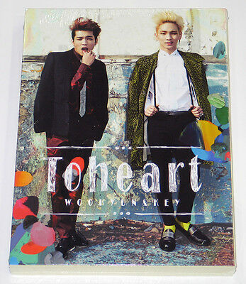 TOHEART [INFINITE Woohyun & SHINee Key] - 1st Mini Album [CD+Photocard+Poster]