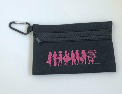 2018 Barbie Convention Zippered Coin Purse w//Pink Poodle Logo Ladies Size Pouch