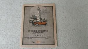 1926-Indy-500-race-program-14th-running-historic-event-cars-drivers-vintage-ads
