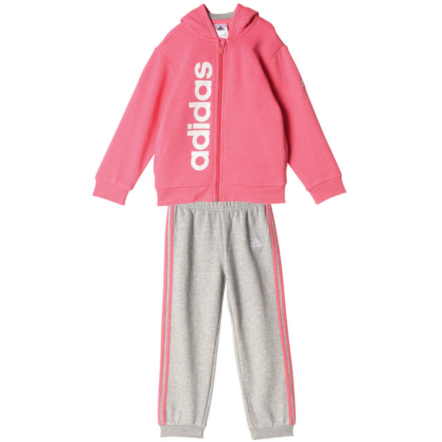 Adidas Baby-Girls Ft Pullover Jogger Set Tracksuit