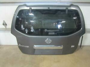 05-07-NISSAN-PATHFINDER-Lid-Hatch-Tailgate-Gate-Trunk-Structural-Grey-K27