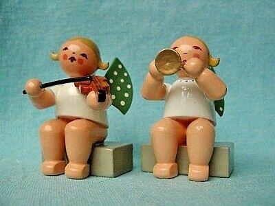 Wendt /& Kühn Engel mit Trompete im Mond 650//70//36