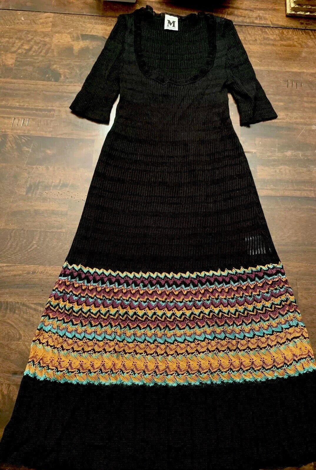 M Missoni Flare Knit Dress Größe US 2