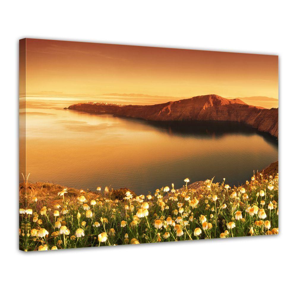 Une nouvelle sur génération, nouvelle sélection! Toile-Lever du soleil sur nouvelle Santorin-Grèce d04533