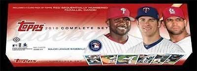 RARE STANTON ROOKIE! 2010 Topps Baseball Complete Factory Sealed Hobby Box Set