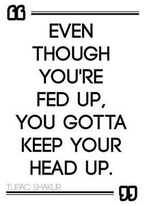 Motivational Tupac Shakur 2pac Rap Hip Hop Quote Positive Poster
