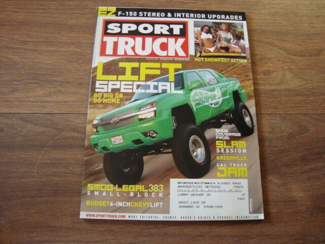 Sport Truck October 2003 Magazine SWI