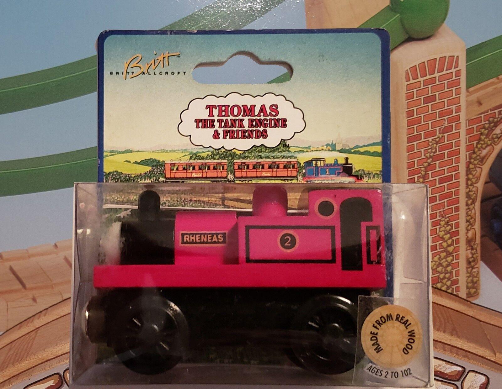 THOMAS & FRIENDS WOODEN RAILWAY  RHENEAS  1997 - RARE HARD TO FIND