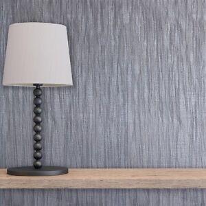 Milano-con-textura-liso-gris-Purpurina-Plateada-Papel-pintado-Pesado-Italiano