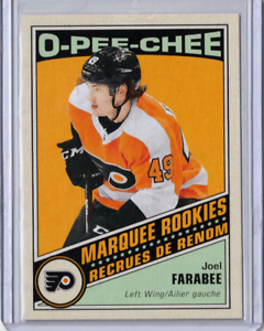 JOEL-FARABEE-19-20-Upper-Deck-UD-OPC-O-Pee-Chee-Retro-Marquee-Rookie-613-Flyers