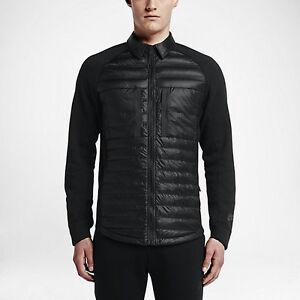 Nike 678263 Tech Fleece Aeroloft Men s Shirt  240 Jacket 800-Fill ... 9b01c23c2ae1
