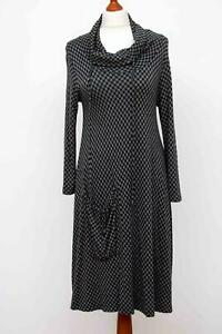 Divine-The-MASAI-Clothing-Company-Grey-Lagenlook-Dress-Size-M