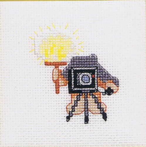 50 Ways To Lighten Up Lights Lamps Cross Stitch Chart Pattern