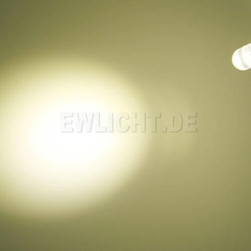 20 LEDs 3mm blanc chaud 13000mcd LED pc Modding voiture auto Modélisme