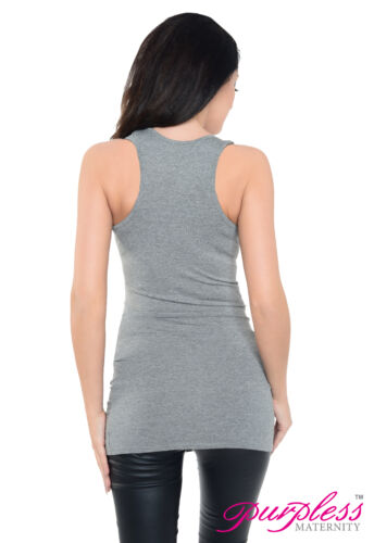 Casual Maternity Vest Top Pregnancy Wear Clothing Size 8 10 12 14 16 18 5071