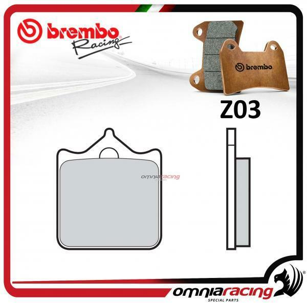 Brembo Racing Z03 plaquette frein avant fritté DUCATI 999 2003>2007