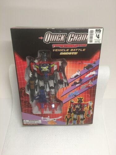 Transformers Quick Change Vehickle Battle Robots MISB Big Lots Aerialbots