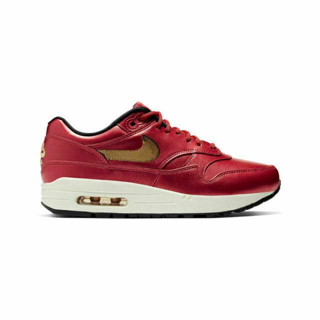 Size 5 - Nike Air Max 1 Gold Sequin