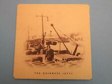Beer Bar Pub Coaster: Guinness Brewing Co <> The Jetty <> St John's Gate Ireland
