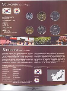 South-Korea-KMS-6-coins-from-1983-2007-Unc-Set-with-Certificate