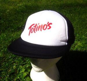 TOTINO S trucker cap General Mills frozen pizza cap 1980s snapback ... 6bbca2e0a0f6