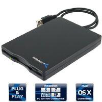Floppy Disk Drive Disc Portable External Usb 1.44 Mb Pc Mac Converter Reader