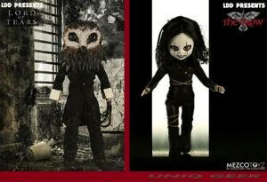 Mezco-Living-Dead-Dolls-Presents-THE-CROW-amp-Lord-of-Tears-OWLMAN-Dolls