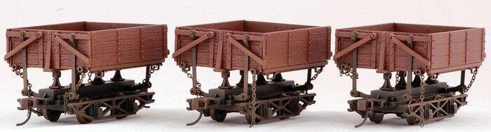 On30 - Bachmann - Logging & Mining Car Wood Sided Dmp Car (3-pcs)
