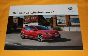 VW-Golf-GTI-Performance-2019-Prospekt-Brochure-Catalog-Folder-Prospetto