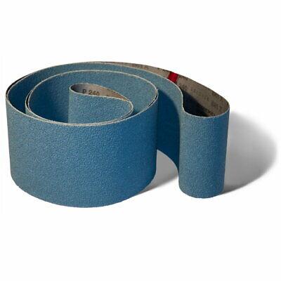 Starcke Gewebe Schleifband Schleifbänder 10 mm  x 330 mm K40 K80 wählbar