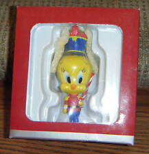 LITTLE TOY SOLDIER TWEETY ORNAMENT Goebel Porcelain Looney Tunes Damaged Box MIB