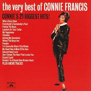 CONNIE-FRANCIS-THE-VERY-BEST-OF-CD-STUPID-CUPID-60-039-s-GREATEST-HITS-NEW