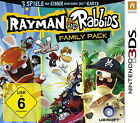 Rayman and Rabbids Family Pack (Nintendo 3DS, 2014, Keep Case)