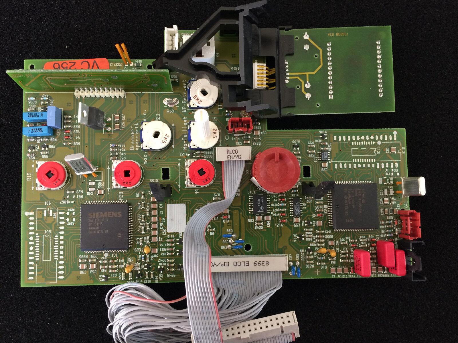 VAILLANT LEITERPLATTE , PLATINE , CPU VC 256