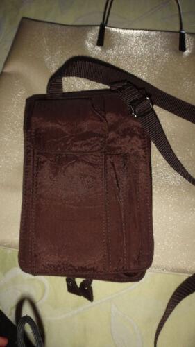 borsellino a borsa marrone Bella metallizzato tracolla F06YqPv
